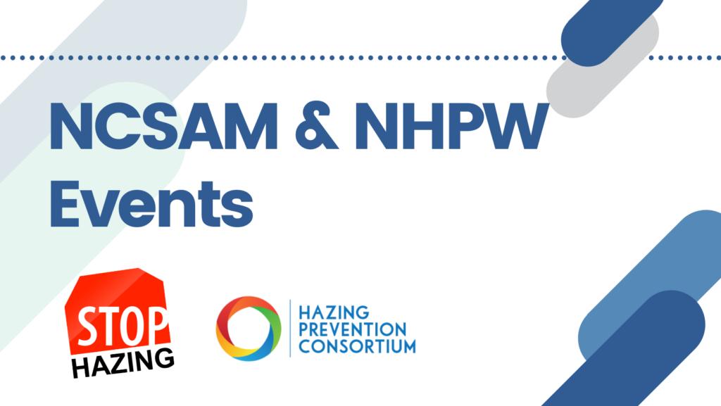 NCSAM & NHPW Announcement banner