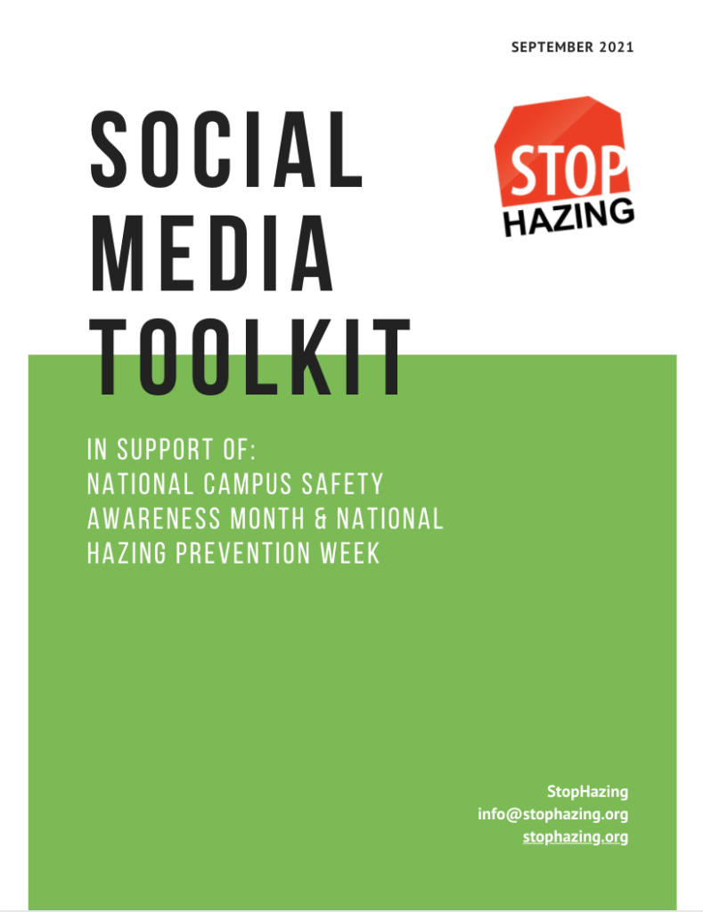 front page of social media toolkit