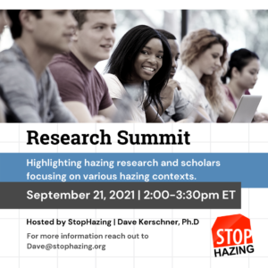 flyer for research summit
